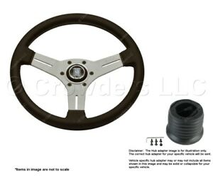 Nardi Competition Steering Wheel + Hub for Nissan 6070.33.1091+4350.98.1009