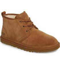 UGG Australia Men's Neumel 3236 Shoes Chestnut Suede Sz 7-14 NEW