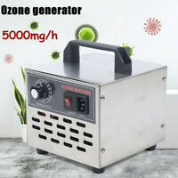 Commercial Ozone Generator 5000mg Air Purifier Deodorizer Sterilizer USA