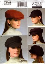 Vogue Sewing Pattern V9044 9044 Ladies Hats Sewing Pattern