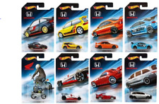 Hot Wheels 2018 Honda Series Set of 8 Civic EF SI S2000 Civic SI CRX 1/64 MOC