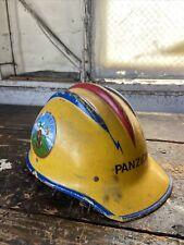 New listing vintage fiberglass E.D. bullard hard hat helmet hard boiled Safety Firemen