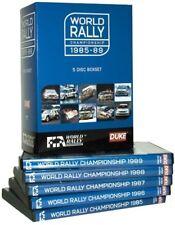 WRC 1985-1989 FIA WORLD RALLY CHAMPIONSHIP 1980s 80's - x5 NEW DVD BoxSet