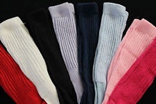 8 Thick Long Slouch to knee thigh high scrunchie Socks heavy large Hooters lot