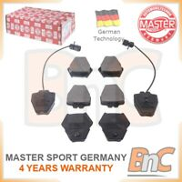 # GENUINE MASTER-SPORT GERMANY HD FRONT DISC BRAKE PAD SET FOR AUDI A8 4D2, 4D8