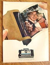 1967 Polaroid Camera Ad Land Camera Automatic 210
