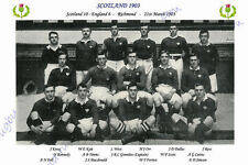 "Scotland 1903 (v England) 12"" x 8"" Rugby Team Photo Players Named Triple Crown"