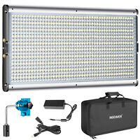 Neewer Bi-color 960 LED Dimmable 3200-5600K Video Light Panel with Carry Bag