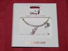 Disney Park Alex & Ani Bracelet Classic Minnie Mouse Stand Pose Vintage Silver