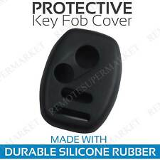 Remote Key Fob Cover Case Shell for 2010 2011 Honda Accord Crosstour Black