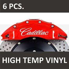 Cadillac Premium Brake Caliper Stickers decals ATS Allante BLS Brougham CTS
