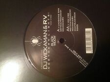 "Wickaman & RV- Northern Lights/Vox Vibe 12"" Drum and Bass Vinyl Black Widow 2005"