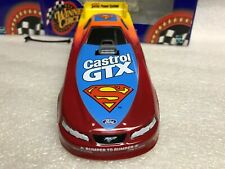 1:24 John Force Castrol GTX Superman NHRA Die-Cast FUNNY CAR 2000 Ford Mustang