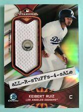 2019 Bowman Chrome KEIBERT RUIZ Arizona Fall League AFL Jersey RELIC Dodgers /99