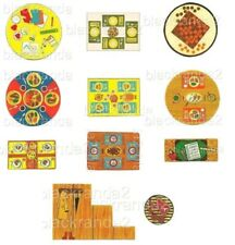 FISHER PRICE LITTLE PEOPLE FURNITURE REPLACEMENT LITHOS STICKERS PRECUT YOU PICK