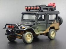 1980 80 TOYOTA LAND CRUISER FJ40 W HITCH 1/64 SCALE DIORAMA DIECAST MODEL CAR
