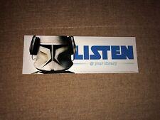 RARE Star Wars/Lucas Films & American Library Bookmark