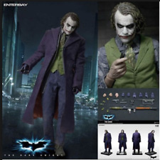 "NIB 18"" Enterbay HD Movie 1/4 Scale Joker Dark Knight Heath Ledger figure"