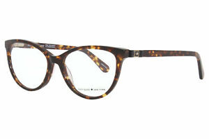 Kate Spade Jalinda 086 Eyeglasses Women's Dark Havana Optical Frame 52mm