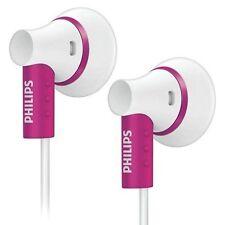 Philips SHE3000PK In-Ear Headphones Extra Bass 15mm Speaker SHE3000 Pink