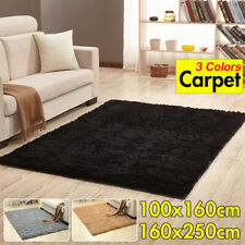 Fluffy Soft Carpet 160x250cm Anti-skid Rug Floor Shaggy Area Mat For Home