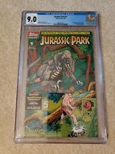 Jurassic Park 1 CGC 9.0 Topps Comics, freshly graded
