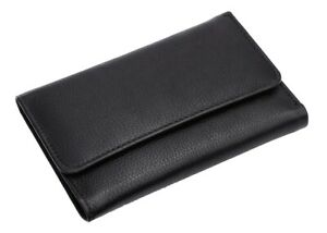 Mens Real Leather Wallet Credit Card Holder coin purse RFID BLOCKING