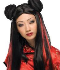 Ms Chow Wig oriental anime theatrical costume women fashion hair Rubies quality