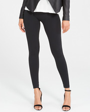 CLOSEOUT!! SPANX Look At Me Now Very Black Seamless Leggings Size Small