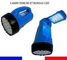 Lampe Torche & de Bureau Rechargeable à Batterie 23 + 16 Led