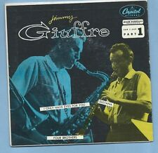 "JIMMY GIUFFRE - CAPITOL EAP 1-549 ""JIMMY GIUFFRE PART 1""  (GREAT JAZZ EP 45)"