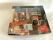 Lote de 4 1989-90 Sellado Hoops baloncesto serie 2 cajas de caso 144 paquetes