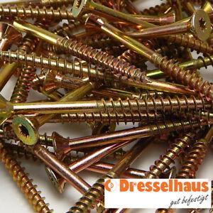Schrauben Spanplatten Teilgewinde JD79 Torxantrieb 3x30-6x200 Holzschrauben k