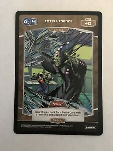 Meta X DC Justice League C46-JL Intelligence Trading Card Panini
