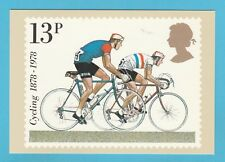 PHQ 31 D  -  POST OFFICE POSTCARD  -  CYCLES  -  MODERN  ROAD  RACING  -  1978