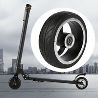 Solid Rear Tire Wheel Replacement for Carbon Fiber Folding Electric Scooter