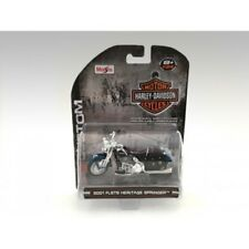Maisto 1:24 Harley Davidson 2001 FLSTS Heritage Springer American Diorama