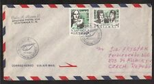 GUATEMALA 1992 COVER TO CZECH REPUBLIC !!
