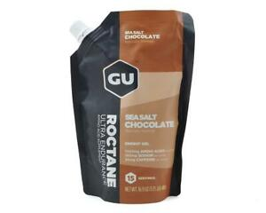 GU Roctane Gel (Sea Salt Chocolate) (1 16.9oz Packet) [124102]