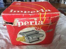 Imperia Macchina Per Pasta SP 150 Vintage 1969 With Box
