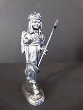 Michael Ricker Pewter ~ Angel Wand Wings Amanda ~ Stamp 5013 ~ Certificate