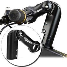 Adjustable Angle Road Bike Handlebar Stem Bicycle Hand Bar Riser 28.6*31.8 Black