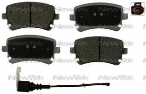 Disc Brake Pad Set-Velocity Plus Economy Semi-Metallic with Shim Disc Pads Rear