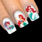 LITTLE MERMAID Princess Ariel DlSNEY Nail Water Transfer Decal Sticker Art