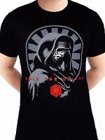 Official Star Wars Kylo Ren Rule the Galaxy Rise of Skywalker Black Men T-shirt