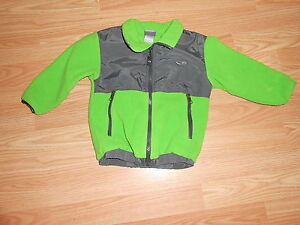 Champion green and gray zip-up jackett size 2T