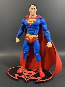 "DC DIRECT SUPERMAN SERIES 7 SEARCH FOR KRYPTONITE 7"" FIGURE LOOSE BATMAN"