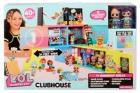 LOL Surprise CLUB HOUSE PLAYSET 2 BAMBOLE ESCLUSIVE DOLL PRESENT SORPRESA REGALO