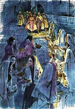 """Reprint - """"Parable Of The Virgins"""" By Richard Hook - On 11"""" X 17"""" Card Stock"""