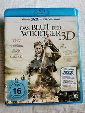 Das Blut der Wikinger Uncut 3D - Bluray - Neu in Folie